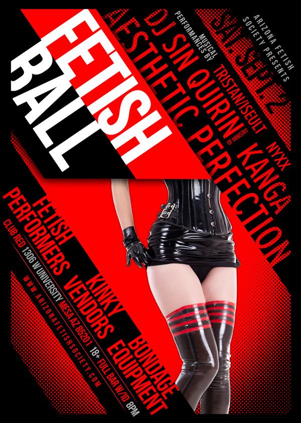 Arizona Fetish Society Fetishball Flyer 2017